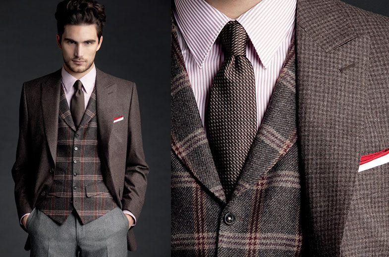 Как выбрать ткань для мужского костюма?